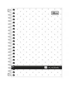 Cadernos tilibra imagem principal do produto caderneta espiral capa dura 18 acadmie feminino 80 folhas fandeluxe Gallery