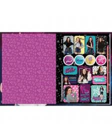 ... imagem de detalhe produto Caderno Brochura Capa Dura Universitário Larissa  Manoela 40 Folhas 8e1c866d0e