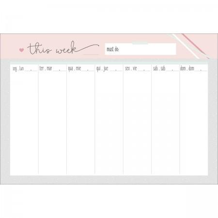 bloco planner semanal 52 folhas soho permanente soho agendas