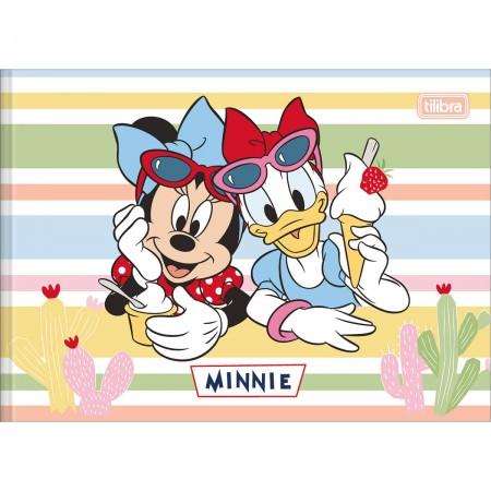 Caderno De Desenho Brochura Capa Dura Minnie 40 Folhas Minnie