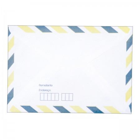 Envelope Carta Aereo Tb11 114x162mm Tilibra Escritorio