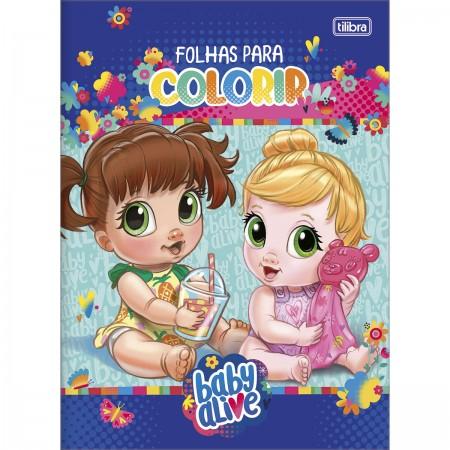 Folhas Para Colorir Baby Alive 8 Folhas Baby Alive Escolar