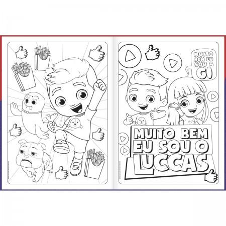 Folhas Para Colorir Luccas Neto 8 Folhas Luccas Neto Escolar